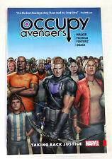 Occupy Avengers Vol 1: Taking Back Justice TPB (2017, Marvel) - NEW/UNREAD