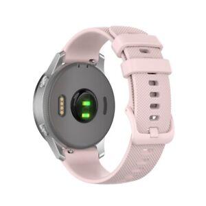 Silicone Strap Watch Band for Garmin Vivoactive 4 4S 3 Music Vivomove 3 3S HR