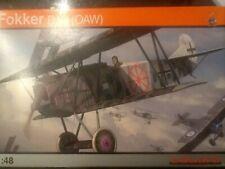 Eduard 1/48 scale Fokker D.VII (OAW), Profipack; 8131; 2005; PLAIN BOX