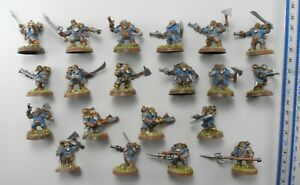 20 ARKANAUT COMPANY Plastic Kharadron Overlords Army Painted Age of Sigmar 87