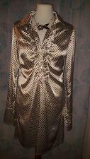 Introvabile  Abito dress DENNY ROSE Tunica Blusa Vestito Top Camicia come nuovo!