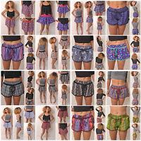 Womens Casual Shorts Printed Boho Beach Board Swimming Fashion Hot Pants