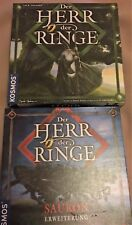 Herr der Ringe mit Sauron Erweiterung Kosmos Spiel J.R.R. Tolkien, Brettspiel
