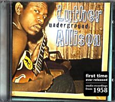 LUTHER ALLISON- Underground- 2007 Blues CD (RUF 1132) Bobby Rush & Mule