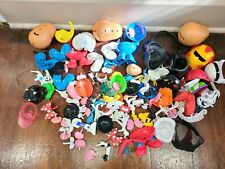 Mr Potato Head lot of 125 Parts and Pieces Lot with Disney and Star Wars