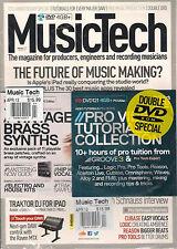 MUSIC TECH UK April 2013 MUSIC MAKING Apple iPAD Traktor DJ +2 DVD's Brass Synth