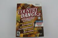 Nintendo Wii Country Dance 2 Game w/ Microphone - New Open Box -