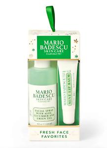 MARIO BADESCU Fresh Face Favorites Duo - Facial Spray Green Tea + Mint Lip Balm