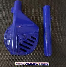 ATC Addiction Fork & Disc Guards by Maier BLUE 1985 1986 Honda ATC250R ATC 250R