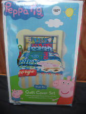 Peppa Pig - George - Quilt Cover Set