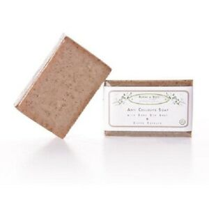 Alphy&Becs Anti Cellulite Treatment Soap Bar With Coffee Extract & Dead Sea Salt