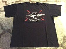 Foo Fighters Eagle Lightning Bolts Black Shirt Adult Extra Large Xl 2008