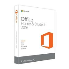 Brand New Microsoft Office Home and Student 2016 for Windows