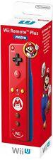 Nintendo Wii U Remote Plus Controller - Mario Edition Mario Limited Edition