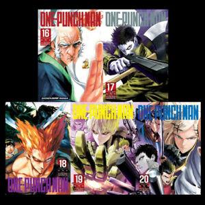 ONE PUNCH MAN English MANGA Series by Yusuke Murata Set of Book Volumes 16-20