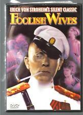 Foolish Wives (DVD, 2004) ERICH VON STROHEIM  ~  DVD  ~ SILENT CLASSIC