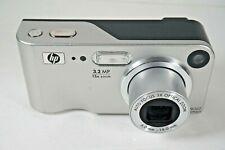 "New ListingHp PhotoSmart M307 Digital Camera Point & Shoot 3.2Mp 1.8"" 3x Oz 5x Dz Silver"