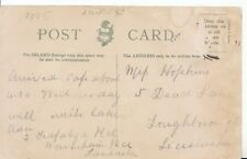 Family History Postcard - Hopkins - Loughborough - Leicestershire - Ref 2274A