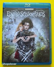 Edward Scissorhands (Blu-ray, 2015) 25th Anniversary - NO DIGITAL CODE Like New