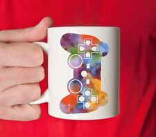 ONLINE PC COMPUTER GAME GAMER CONTROLLER COFFEE CUP MUG MINECRAFT COUNTER STRIKE