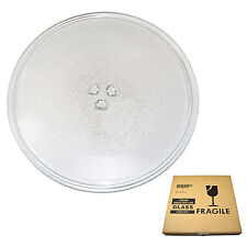 HQRP 12-3/4 inch Glass Turntable Tray for Amana MVH140E, R9800455 Microwave Oven