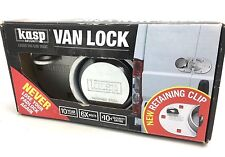 CK Tools KASP K50073A Heavy Duty Security Van Lock & Hasp Padlock