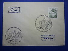 LOT 12566 TIMBRES STAMP ENVELOPPE MUSIQUE POLOGNE ANNEE 1980