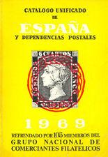CATALOGO EDIFIL SELLOS ESPAÑA Y DEPENDENCIAS POSTALES 1969