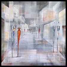 Joram Neumark Streetlife i Grey póster imagen son impresiones artísticas en el marco de aluminio 60x60cm
