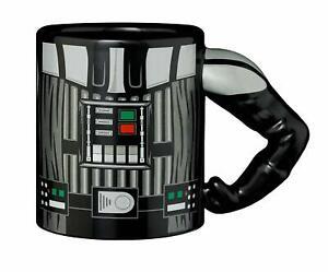 Star Wars Darth Vader 3D Arm Tasse Kaffee Becher Keramik | 330ml | Schwarz