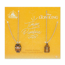 Disney Authentic Timon & Pumbaa Friendship Necklace Set - The Lion King Jewelry