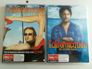 Californication First and Second Season DVD Showtime