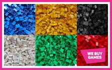 LEGO Brick Bundle - 25 Pieces - Size 2x2  - Choose Your Colour