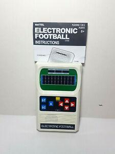 Mattel Electronic Football Handheld Game Retro s1