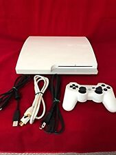 Used PS3 PlayStation 3 (160 GB) Classic White (CECH - 3000 A LW) F/S Japan
