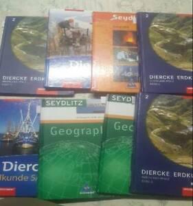 17 Schulbücher Geschichte, Geographie, Reliion ...