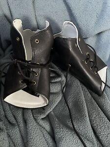 AZAFO ARIZONA Mezzo Foot Brace Orthodic Left/Right Leg Custom Made 100% Leather