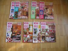 Wohn Idee, Konvolut f Sammler: Zeitschriften aus verschiedenen Jahrgängen 1997-