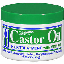Hollywood Beauty Castor Oil with Mink Oil 213g