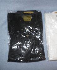 Camel Trophy Adventure Wear Safari Shirt Cargo Button Short Sleeve Black Size XL
