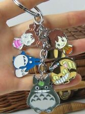TOTORO Anime Keychain Cute Japan Manga Charm Keyring Pendant Figure Toy Gift