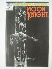MOON KNIGHT #25 MARVEL COMICS 1982 1ST APPEARANCE OF BLACK SPECTRE