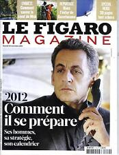 LE FIGARO MAGAZINE N°20932 19 NOVEMBRE 2011   SARKOZY 2012/ SPECIAL NEIGE