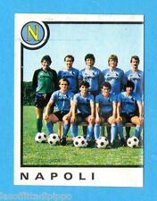 PANINI CALCIATORI 1982/83 -Figurina n.181- SQUADRA SX - NAPOLI -Rec