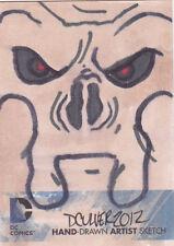 DC the New 52 sketch card Dennis Culver