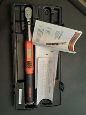 Snap On 3/8 Flex Head Techangle Digital Torque Wrench ATECH2F100OB 5-100 Ft Lbs