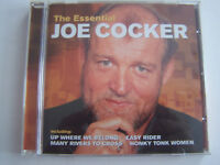 CD JOE COCKER , THE ESSENTIAL , 14 TITRES 1995 , TRES  BON ETAT .