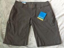 New w/Tags Columbia Gray Saturday Trail Active Outdoor Women's 4 /10 Long Shorts