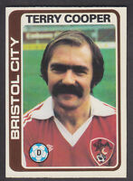 Topps - Footballers (Blue Back) 1979 - # 329 Terry Cooper - Bristol City