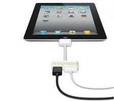 1080P Dock Connector to HDMI TV Adapter Cable Lead For iPhone 4s & iPad 2 3